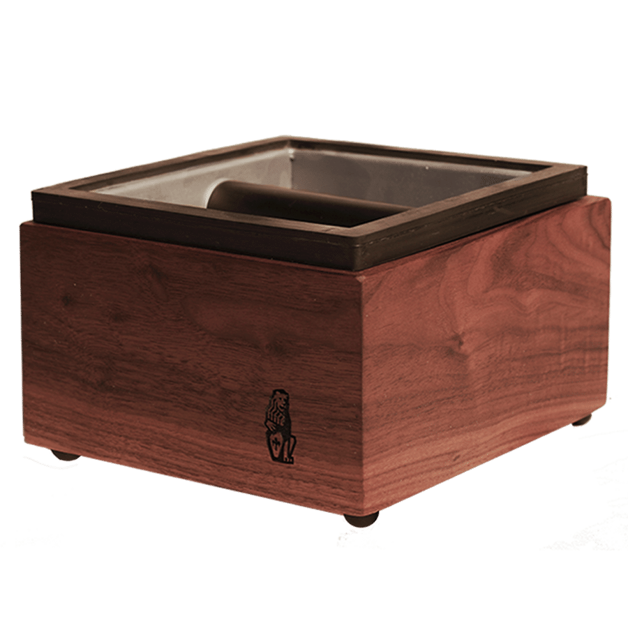 espresso machine knock box