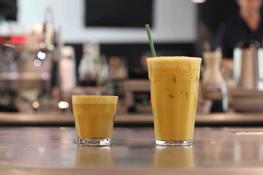 Hot & Cold Turmeric Latte