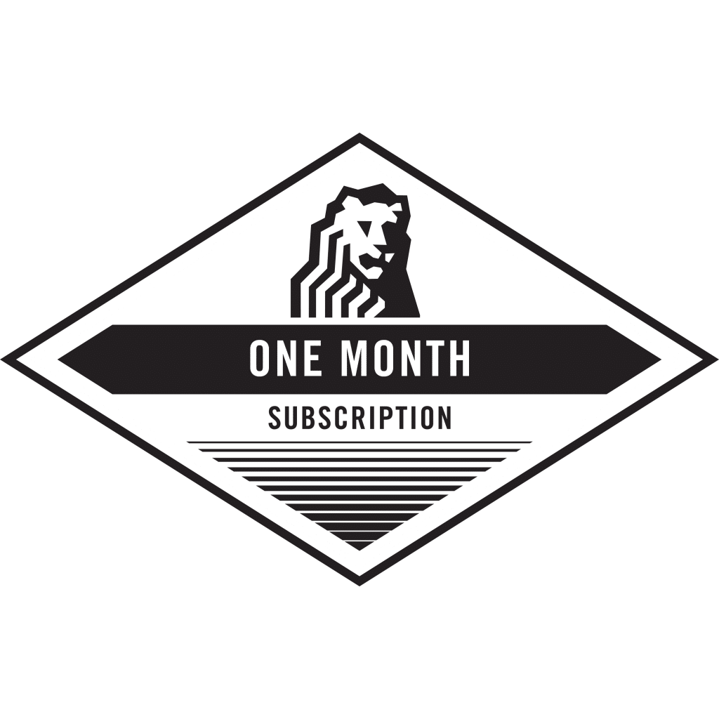 1 month only