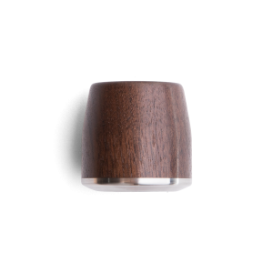 La Marzocco's Linea Mini Steam Knob Walnut Set
