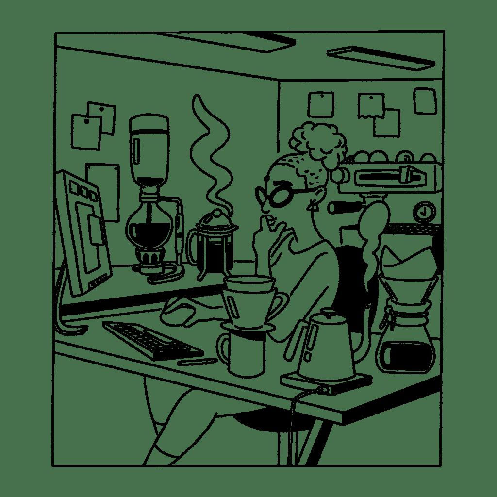 Cubicle Café
